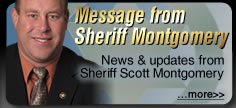 Message from Sheriff Montgomery